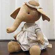 Куклы и игрушки ручной работы. Ярмарка Мастеров - ручная работа Слоника. Handmade.