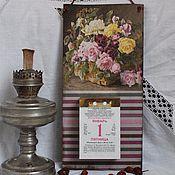 Для дома и интерьера ручной работы. Ярмарка Мастеров - ручная работа Подвес для каледаря отрывного. Handmade.
