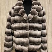 Одежда handmade. Livemaster - original item Chinchilla rabbit jacket