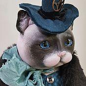 Куклы и игрушки ручной работы. Ярмарка Мастеров - ручная работа Кот и Яша. Handmade.