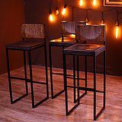Стулья ручной работы. Ярмарка Мастеров - ручная работа Барный стул из дуба # 6. Handmade.
