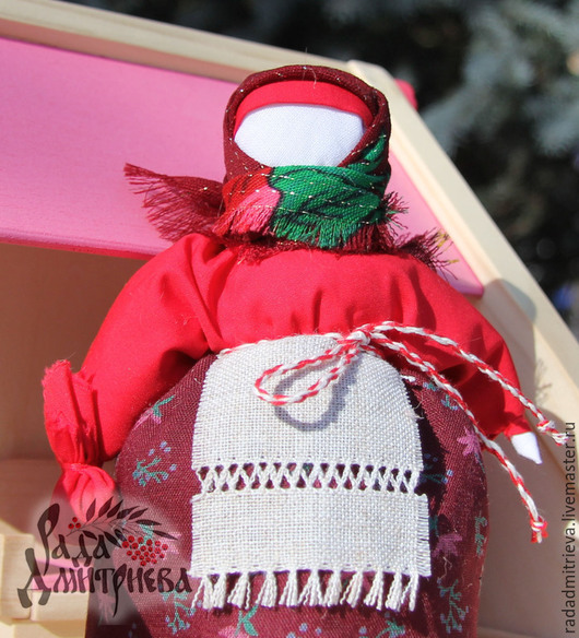 Обереги, талисманы, амулеты ручной работы. Ярмарка Мастеров - ручная работа. Купить Кукла-оберег Берегиня дома (Столбушка). Handmade.