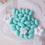 Свадебный салон ручной работы. Ярмарка Мастеров - ручная работа Миндальные конфеты для свадебных бонбоньерок. Handmade.