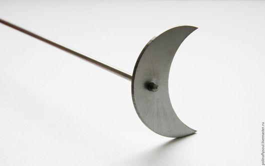 """Другие виды рукоделия ручной работы. Ярмарка Мастеров - ручная работа. Купить Мандрель под кабошон """"полумесяц"""" (h43х30х16мм). Handmade."""