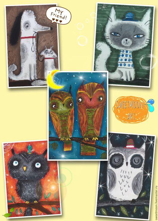 Набор текстильных купонов:`Friends Animals`