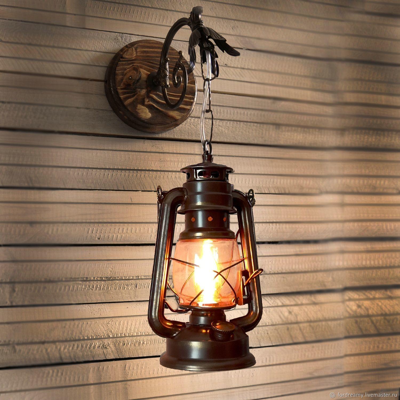 Lamp Kerosene Electric Wall For Garden House