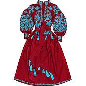 "Одежда handmade. Livemaster - original item Long dress ""Cossack`s Ballad"". Handmade."
