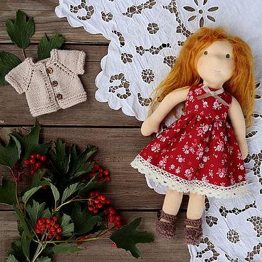 Куклы и игрушки ручной работы. Ярмарка Мастеров - ручная работа Куклы: Вальдорфская кукла.. Handmade.