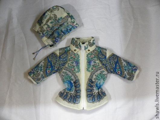 """Для подростков, ручной работы. Ярмарка Мастеров - ручная работа. Купить Куртка для ребёнка """"Весенний ручеёк"""". Handmade. Разноцветный"""