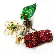 Украшения handmade. Livemaster - original item Cherry blossom Brooch. Handmade.