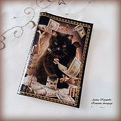 Канцелярские товары handmade. Livemaster - original item Passport cover(with any picture). Genuine leather.. Handmade.