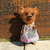 Куклы и игрушки ручной работы. Ярмарка Мастеров - ручная работа Коричневый мишка. Handmade.