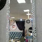 Для дома и интерьера handmade. Livemaster - original item mirror in mosaic frame. Handmade.