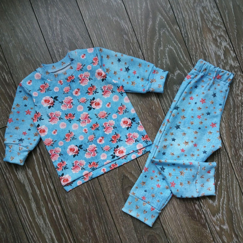 Теплая пижама для малыша, Одежда унисекс, Борское, Фото №1