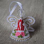 Подарки к праздникам ручной работы. Ярмарка Мастеров - ручная работа Ангел маленький. Пасхальный.. Handmade.