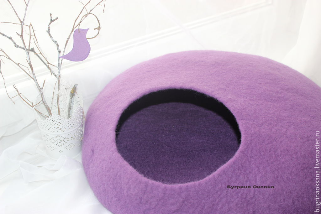House for cats made from sheep's wool MAXI, Pet House, St. Petersburg,  Фото №1