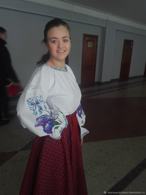 Blouse with 'Iris', Blouses, Kemerovo,  Фото №1