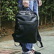 Мужской рюкзак ручной работы. Ярмарка Мастеров - ручная работа Мужской рюкзак экокожа Распродажа. Handmade.