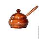 A jug with a lid made of natural Cedar Grisl For food prod KD1, Jars, Novokuznetsk,  Фото №1