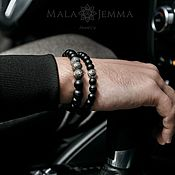 Украшения handmade. Livemaster - original item Men`s Black Onyx Bracelet. Handmade.