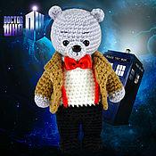 """Куклы и игрушки ручной работы. Ярмарка Мастеров - ручная работа Мишка """"Одиннадцатый Доктор"""". Handmade."""