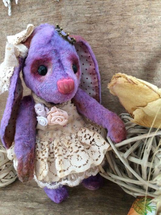 Мишки Тедди ручной работы. Ярмарка Мастеров - ручная работа. Купить Лавандовая принцесса. Handmade. Тедди, авторская игрушка