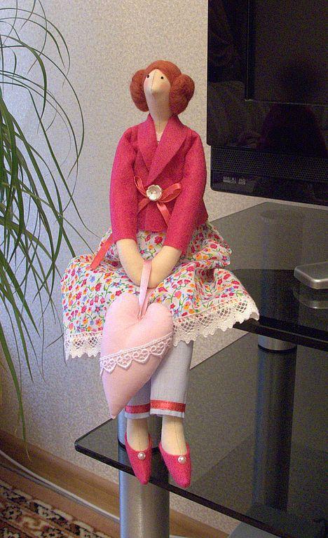 Куклы Тильды ручной работы. Ярмарка Мастеров - ручная работа. Купить Тильда Марианна. Handmade. Тильда, оригинальный подарок