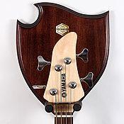 Музыкальные инструменты ручной работы. Ярмарка Мастеров - ручная работа AESTUS - настенный держатель гитары. Handmade.