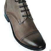 Обувь ручной работы. Ярмарка Мастеров - ручная работа Ботинки College. Handmade.