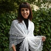 Аксессуары handmade. Livemaster - original item 38 downy gossamer shawl