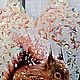 """Новый год 2018 ручной работы. Белка.Доска декоративная """"Белка"""" Подарок на Новый год. Позитив для Вас (Ольга) (pozitiv-podarki). Ярмарка Мастеров."""