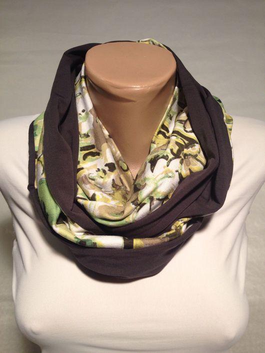 купить круговой шарф