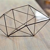Вазы ручной работы. Ярмарка Мастеров - ручная работа Форма геометрическая для флорариума, кристалл. Handmade.