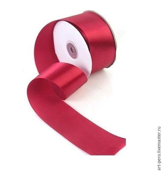 Другие виды рукоделия ручной работы. Ярмарка Мастеров - ручная работа. Купить Лента атласная 5 см , атласная лента , лента 50 мм в ассортименте. Handmade.
