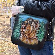 Сумки и аксессуары handmade. Livemaster - original item Men`s leather bag to order. Handmade.