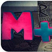 Для дома и интерьера ручной работы. Ярмарка Мастеров - ручная работа Мягкие буквы-композиции. Handmade.
