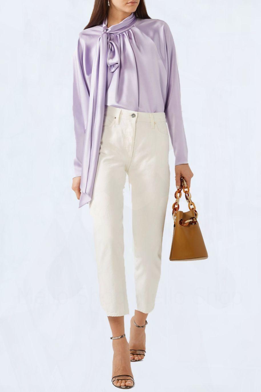 Атласная блузка красивая, Блузки, Оренбург,  Фото №1