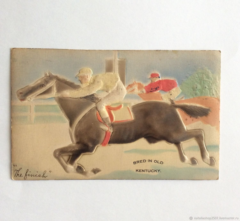 Продать открытку 1907 года, надписями девушки