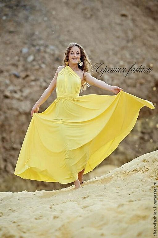 Платья ручной работы. Ярмарка Мастеров - ручная работа. Купить Платье трансформеры. Handmade. Платье, платье трансформер, стильные платья