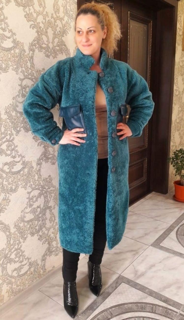 Пальто -рубашка из меха кёрли, Пальто, Пятигорск,  Фото №1