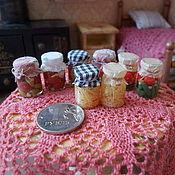 Кукольная еда ручной работы. Ярмарка Мастеров - ручная работа Кукольная еда,домашние заготовки 1:12. Handmade.