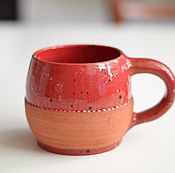Посуда ручной работы. Ярмарка Мастеров - ручная работа Кружка ягодная. Handmade.