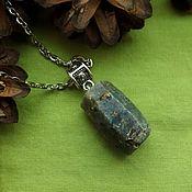 Украшения handmade. Livemaster - original item Pendant with natural sapphire. Handmade.