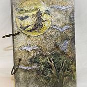 """Канцелярские товары ручной работы. Ярмарка Мастеров - ручная работа Блокнот """"Ведьмины записки"""". Handmade."""