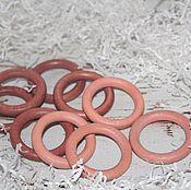 Материалы для творчества ручной работы. Ярмарка Мастеров - ручная работа Кольцо деревянное диаметр 5.5 см. Handmade.