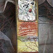 """Канцелярские товары ручной работы. Ярмарка Мастеров - ручная работа Закладка из коллекции """"Мир маленьких фей""""(№21). Handmade."""