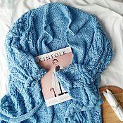 Одежда ручной работы. Ярмарка Мастеров - ручная работа Кардиган ажурной вязки. Handmade.