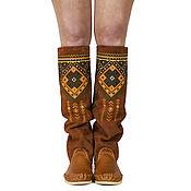 Обувь ручной работы handmade. Livemaster - original item WOMAN BOOTS spring rust handmade ETHNIC /size in stok UE 40. Handmade.