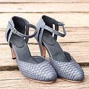 Обувь ручной работы handmade. Livemaster - original item Pumps made of genuine Python leather. Womens shoes from Python. Handmade.