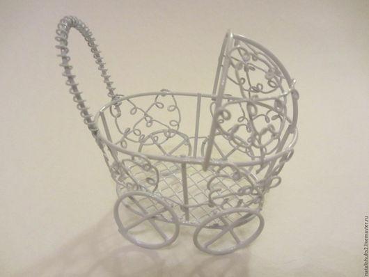 Куклы и игрушки ручной работы. Ярмарка Мастеров - ручная работа. Купить колясочка мини. Handmade. Коляска для кукол, интерьер детской